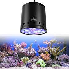 cf grow led aquarium lighting dimmable 100w 150w r marine 2 4g sps reef seaweed led c grow light lamp sea fish tank led aquarium reef led