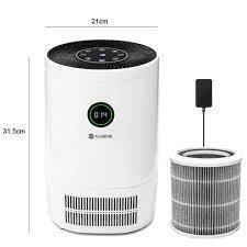 AUGIENB 20200New hava temizleyici Ionizer HEPA filtre ile koku kaldırmak  sigara içen toz yıkama hava ev odası hava temizleyici filtre|Hava  Temizleyicileri