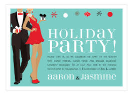 holiday invitations holiday party couple african american invitation