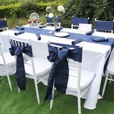 navy blue satin chair sashes europe chair cover sash for wedding party banquet dining decoration home textiles in sashes from home garden on