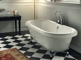 classic style bathtub on legs old america