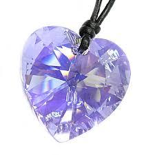 swarovski crystal violet ab heart pendant 28mm black leather 1mm choker necklace 14 16 18 20 22 24 adjustable