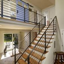 Horizontal Metal Railing Interior Design Ideas, Pictures, Remodel, and  Decor - page 7