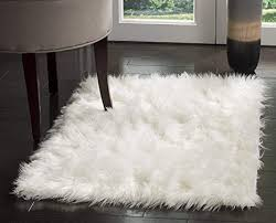 fresh home design inspiration unique faux sheepskin rug in com pinkday area classic rectangle