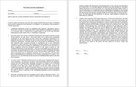16 Free Confidentiality Agreement Templates - Microsoft Office Templates