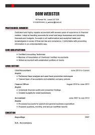 Successful Cv Examples By Industry And Profession My