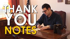 How To Write A Thank You Note The Art Of Manliness Youtube