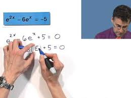 solving exponential equations of