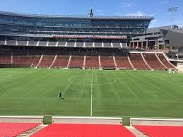 Nippert Stadium Section 106 Row 32 Seat 12 Fc