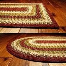 braided cotton rug cotton braided rugs sunrise rectangle cotton braided rug primitive star quilt round braided cotton rug