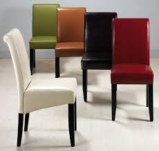 parsons faux leather chairs cream parsons dining chair extraordinary faux leather parsons dining