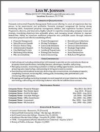 ... Sample Property Manager Resume Inspirational Property Manager Resume  Sample