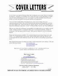 Cover Letter Mistakes Unique Examples How To Write A Cover Letter