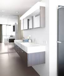 Bathrooms Modern Bathroom With Floating Double Sink Design In Awesome The Bathroom Sink Design