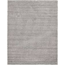 solid cloud gray 9 x 12 rug