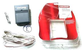 sears craftsman garage door opener remote hbw1255 reset battery universal gar