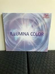 Wella Illumina Colour Shade Chart 15 00 Picclick Uk
