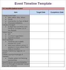Birthday Planner Template Interesting Event Planning Timeline Template Metalrus