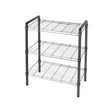 black wire shelving black wire shelving unit in free standing shelves inside marvelous photograph of small