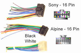 sony car stereo 16 pin wiring diagram house wiring diagram symbols \u2022 Sony Xplod Wiring Harness Colors at Sony Car Stereo Wiring Guide
