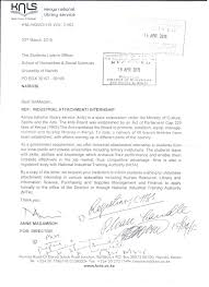12 Application Letter For Industrial Attachment Example College