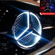 Light Up Car Emblems Mercedes Light Up Badge Cigit Karikaturize Com