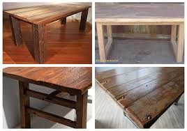 Our Reclaimed Barnwood Table