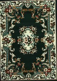 dark green oriental rug