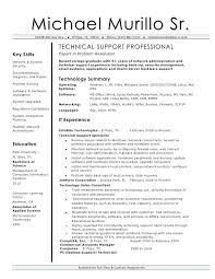 desktop resume technical support resume resume format for desktop support engineer