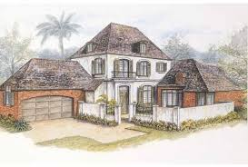 Eplans French Country House Plan   New Orleans French Quarter    Front