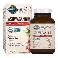 garden of lifemykind organics ashwagandha stress mood