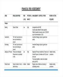 Assessment Example Risk Assessment Templates Free Premium Templates Financial Risk ...