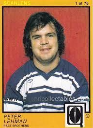 1982 Scanlens QLD Rugby League Card, 1, Peter Lehman | 32853