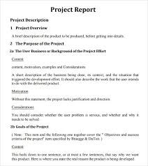 26 Project Report Templates Download Docs Word Pages