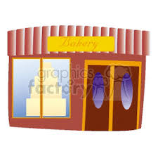 Bakery Storefront Clipart Royalty Free Clipart 162847