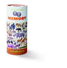 <b>Настольная игра Crocodile Creek</b> Мемори, Дикие животные 3004 ...