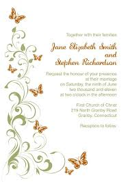 best 25 butterfly wedding invitations ideas on pinterest Pink And Green Wedding Invitation Templates green and orange butterflies free wedding invitation and rsvp Printable Wedding Invitation Templates