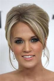 carrie underwood is all glam with gorgeous blue brown white eyeshadow lined upper