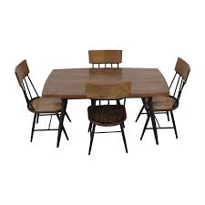 ashley furniture wood dining room table and chair set ashley furniture dining sets
