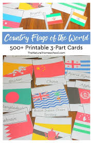 National flags england flag brazil flag 600x600 29kb. Country Flags Of The World 500 Printable 3 Part Cards The Natural Homeschool