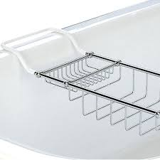 taymor 02 d1087 chrome soap and sponge bathtub caddy