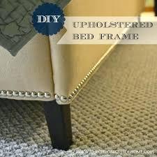 diy upholstered bed upholstered bed frame diy upholstered headboard platform bed