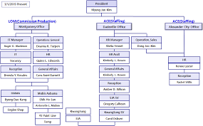 Staffing Company Org Chart Organization Chart Lion Outsourcing Management Llc