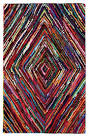 Multi colored area rugs