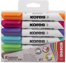 Kores <b>Набор</b> маркеров <b>6</b> шт — купить в интернет-магазине ...