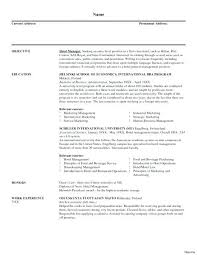 Sports Management Resume Samples Best of Sports Management Resume Samples Yomm
