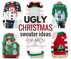 ugly sweaters, christmas xmas outfits, funny 17 Ugly Christmas Sweater Ideas For Men - Thirty Eighth Street