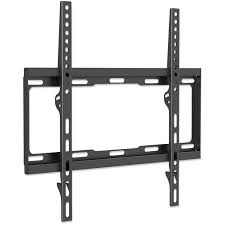 Low profile tv wall mount Inch Tvs Manhattan 460934 Universal Flatpanel Tv Lowprofile Wall Mount Modern Architectural Design And New Style The Latest Model And Manhattan 460934 Universal Flatpanel Tv Lowprofile Wall Mount