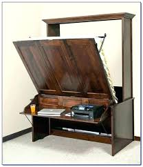 murphy bed plans with table. Murphy Bed Horizontal Awesome Desk Combo Wall Expand Furniture With . Plans Table