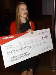 kingsport times news science hill student wins eastman oratorical  kristin kudialis won the 2017 eastman chemical co black history month oratorical contest tuesday and